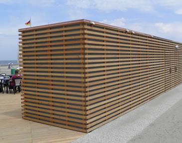 openbaar toilet en douche strand Westvoorne 3STAR