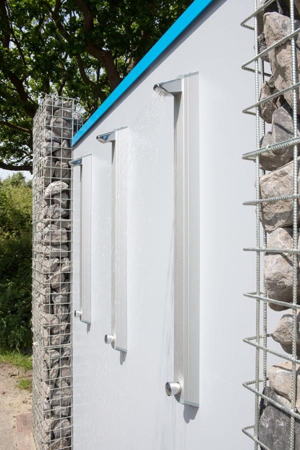 Toiletunit Westenschouwen met douches