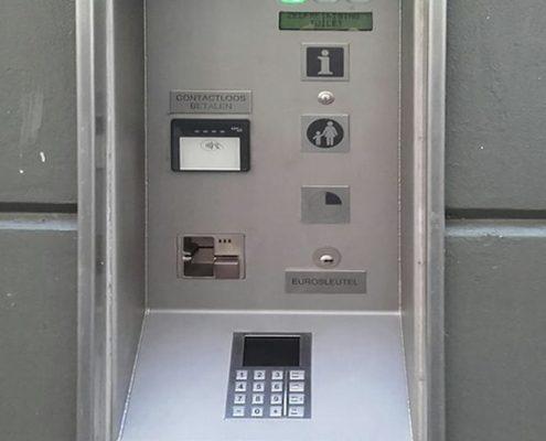 Contactloos betalen voor openbare toiletten van uriLift.