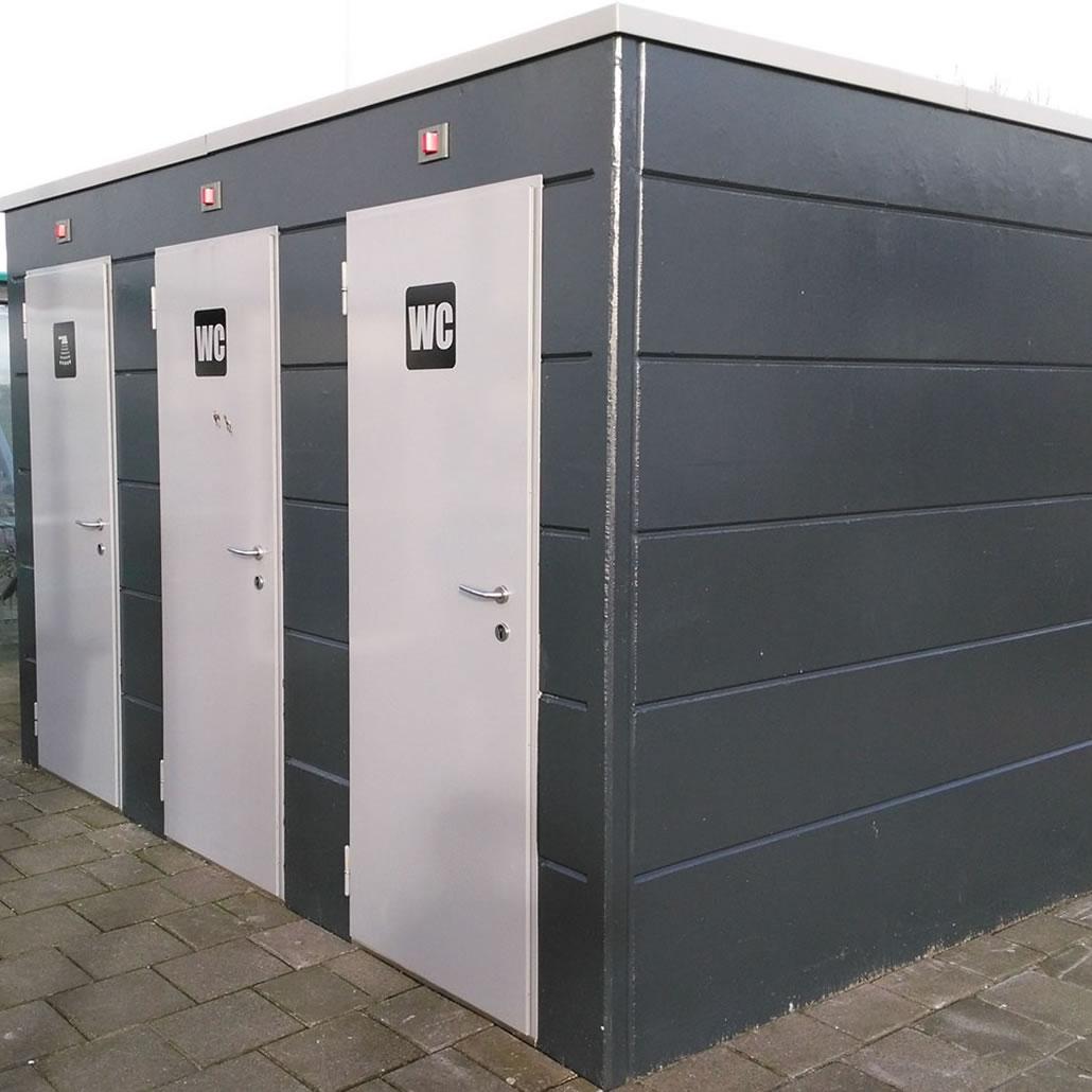 openbaar toilet Royal Flora Holland Naaldwijk