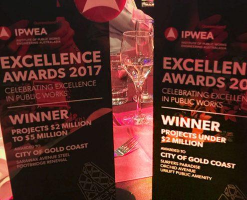 Popup-toilet (UriLift) winner IPWEA-award