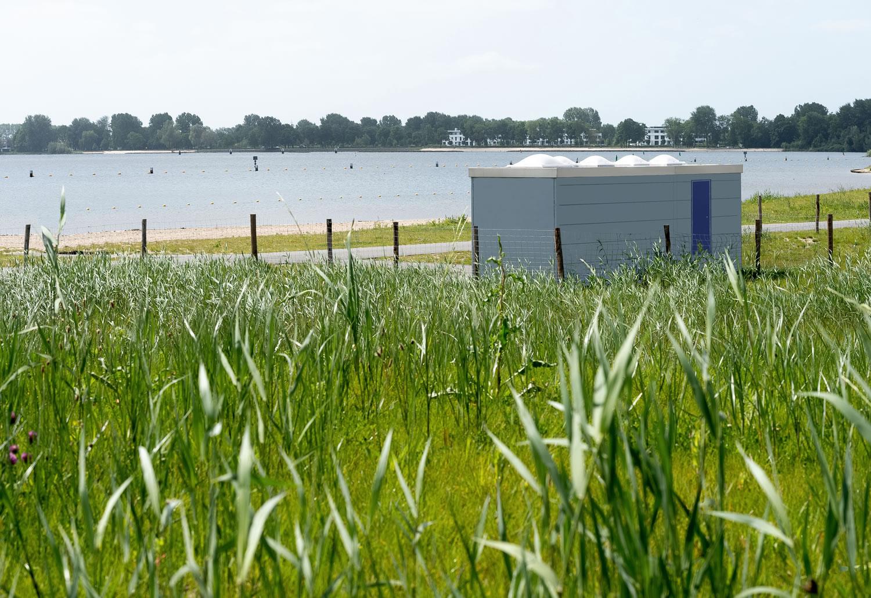 Openbaar toilet van Pop-Up Toilet Company in Almere